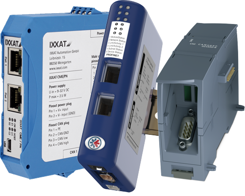 Ixxat and Anybus SIMATIC® Gateways - Connect CAN or CANopen to Siemens networks