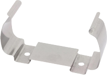 DIN-rail and wall mounting clamp for aluminum CANio 250
