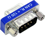 Sub-D9 Connector with CAN Termination