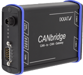 CANbridge -  Alu - Automotive - 2x CAN with Galvanic Isolation