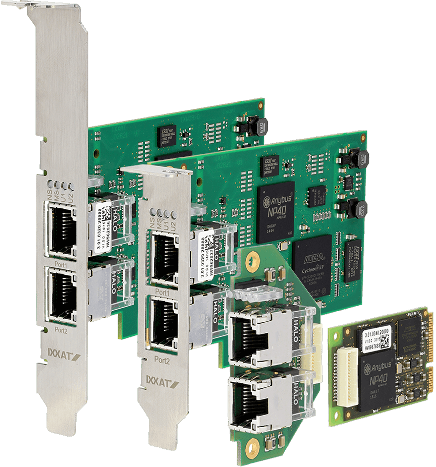 Ixxat INpact Common Ethernet Slave PCIe