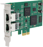 INpact Powerlink Slave PCIe Low Profile 2x RJ45