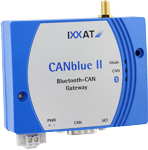CANblue II, RP-SMA connector for external antenna(not included)