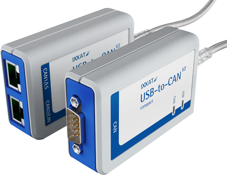 Ixxat USB to CAN V2 Overzicht